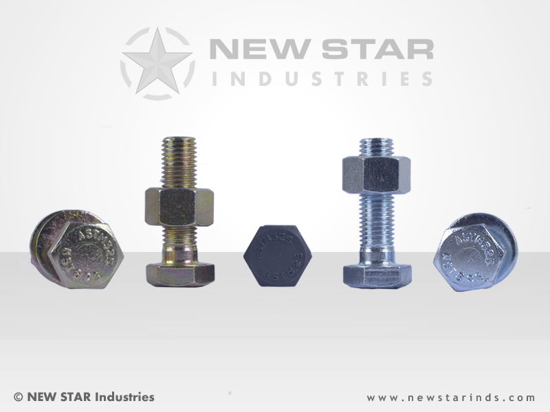ASTM Heavy Head Fasteners by NEW STAR Industries - Ludhiana, Punjab, INDIA.