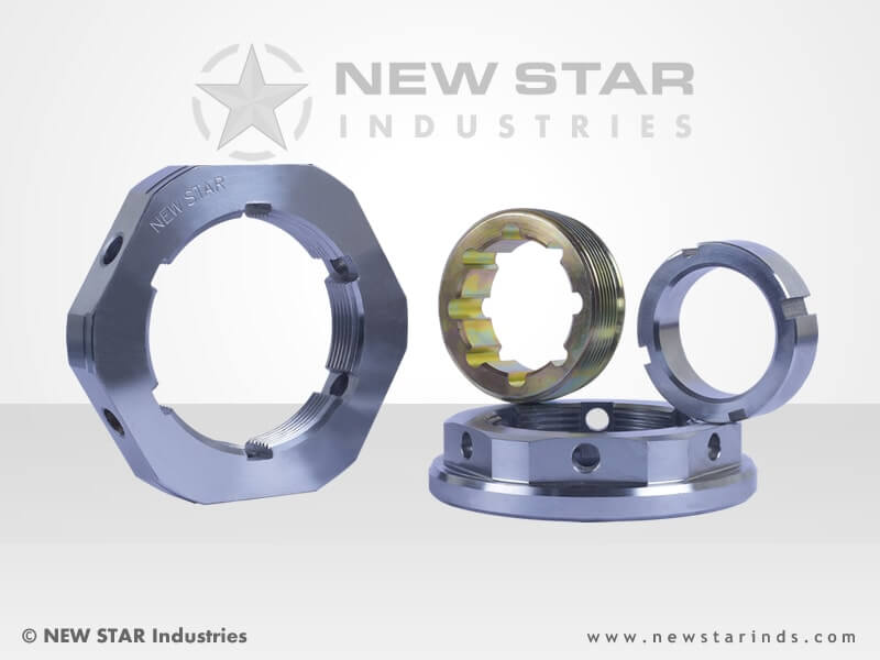 Axle Tube Nuts by NEW STAR Industries - Ludhiana, Punjab, INDIA.