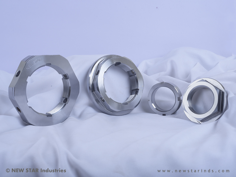 Axle Tube Nuts by NEW STAR Industries