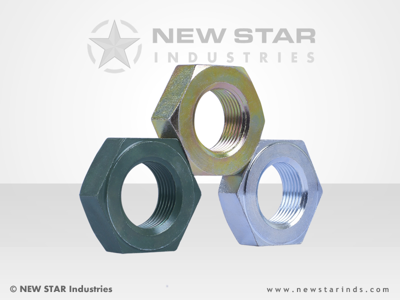 Single Washer Faced Hex Nuts by NEW STAR Industries