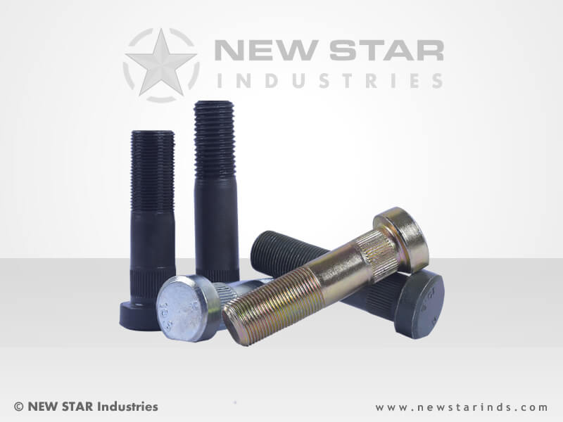 Wheel Bolts by NEW STAR Industries - Ludhiana, Punjab, INDIA.