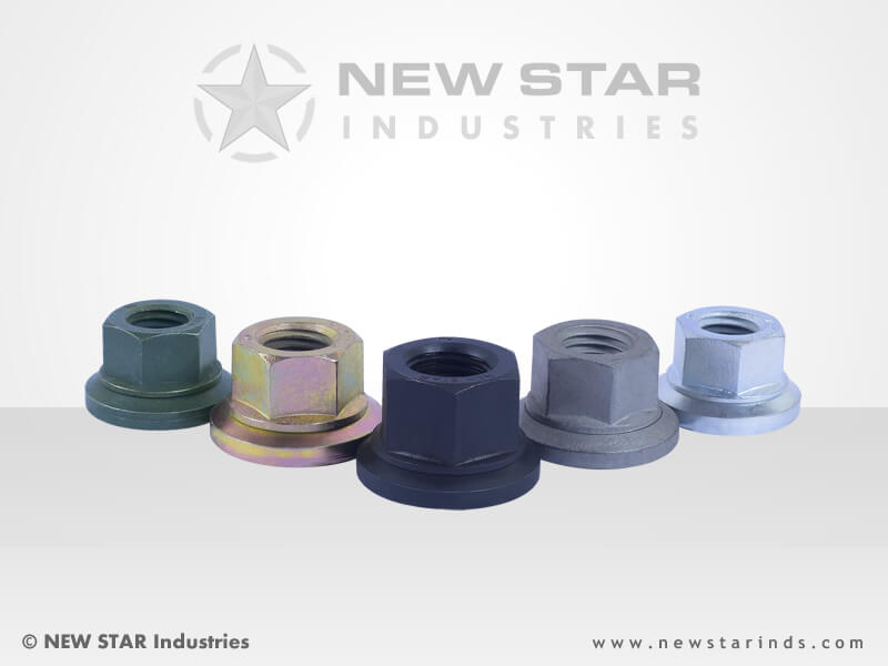 Wheel Nuts by NEW STAR Industries - Ludhiana, Punjab, INDIA.